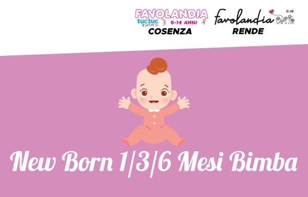 New Born 1/3/6 mesi Bimba