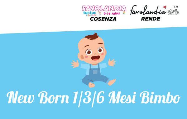 New Born 1/3/6 mesi Bimbo